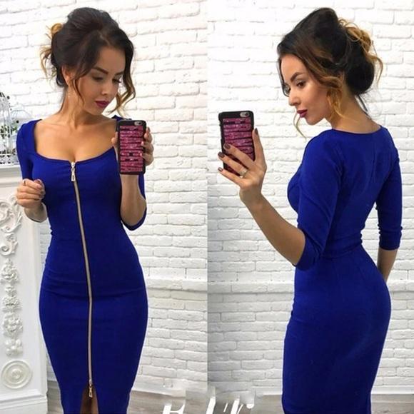 F0 9f 94 A514 F0 9f 94 A5 Nicki Blue Dress